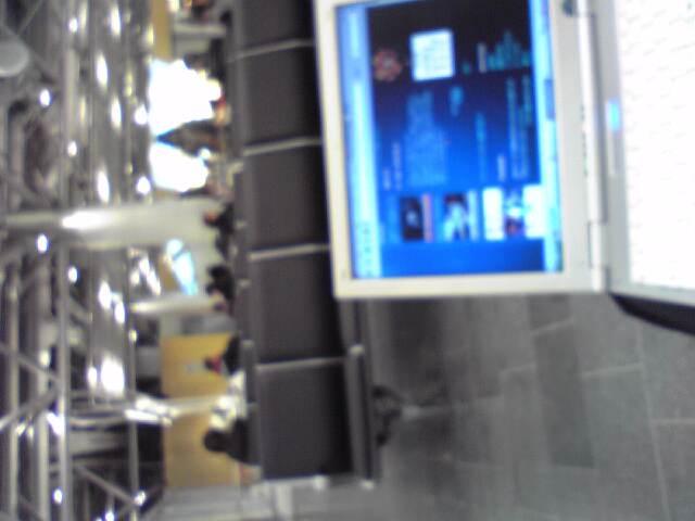 空港から写メール